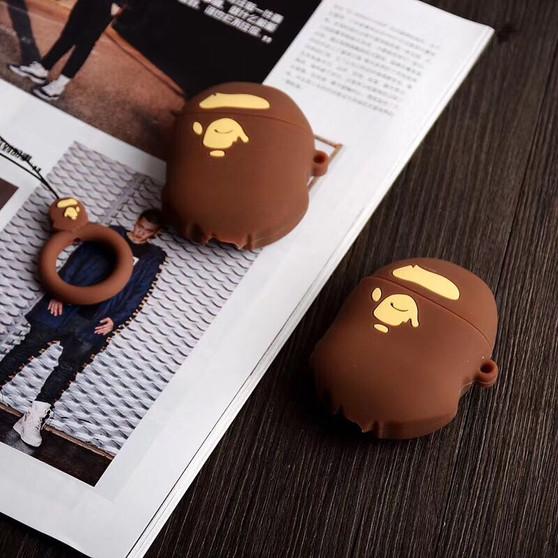 BAPE Ape Head Inspired AirPods Silicon Case