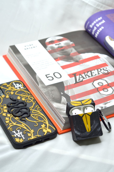 KOBE Mamba Forever Inspired AirPods Thin Silicon Case