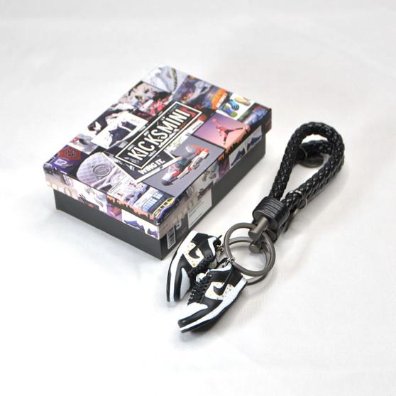 """SB Dunk Low """"SUP Stars Black"""" 3D Sneaker Keychain"""