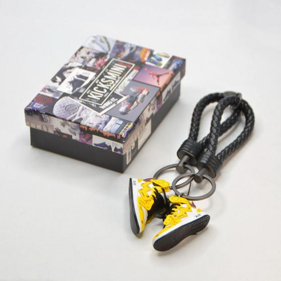 "Anime Costume ""PIKACHU"" AJ1 3D Sneaker Keychain"