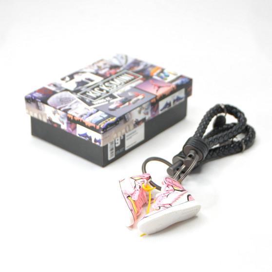 """Anime Customs AJ1 """"MAJIN BUU"""" 3D Sneaker Keychain"""