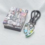 """SB Dunk Low """" Ben & Jerry's Chunky Dunky"""" 3D Sneaker Keychain"""