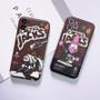 Travis Scott AJ1 Cartoon Style Sneakers iPhone Case