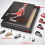 Michael Jordan 3D Sneakers Photo Frame came with 7  Mini Sneakers