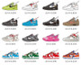 Mix-Match Sneakers Stickers Laptop Stickers Removable and Waterproof
