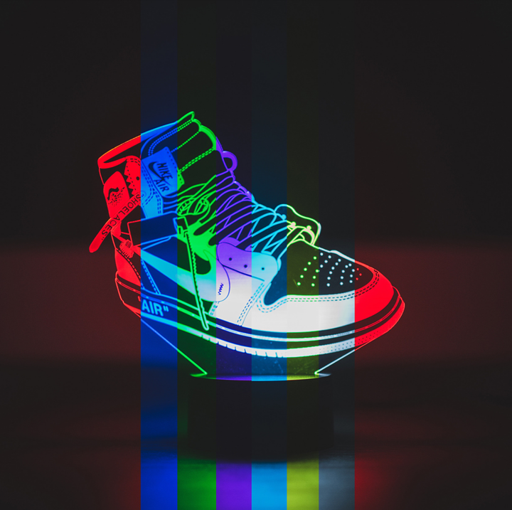 Sneaker LED, Sneaker LED Display, Sneaker Neon, Sneaker LED Neon