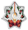 CHRISTMAS STAR - 2016 1 oz Proof Silver Coin - Perth Mint