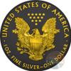 WALKING LIBERTY Gold Shadows 1 Oz Silver Coin 1$ US Mint 2016 ob