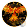 WALKING LIBERTY Burning Eagle 1 Oz Silver Coin 1$ US Mint 2016