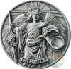 GABRIEL Choir of Angels 2 Oz Silver Coin 5$ Niue 2017