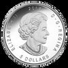 ANA WORLD'S FAIR - DENVER STATE FLOWER - THE COLUMBINE - 2017 $5 1 oz Silver Maple Leaf Coin