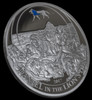 DANIEL IN THE LIONS DEN Biblical Stories Silver Coin 2$ Palau