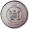 MARVEL LIGHT-UPS - ILLUMINATING COIN SERIES - 2017 Silver Plated $0.50 Coin - Fiji