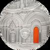 TIFFANY ART ORIENTALISM Castle of Sammezzano 2 Oz Silver Coin 10$ Palau 2018