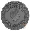 ACHILLES Hematite Demigods 2 Oz Silver Coin 2$ Niue 2017
