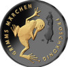 FROG KING Golden Enigma Silver Coin 20€ Euro Germany 2018