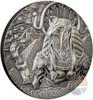 RA SUN GOD Egyptian Eagle Head Gods 3 Oz Silver Coin 20$ Cook Islands 2018