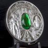 DRESDEN GREEN DIAMOND 2 Oz Silver Coin 10$ Cook Islands 2017