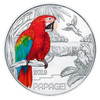 Austria 2018 Colorful Creatures- The Parrot 3 Euro Glow-in-the-Dark Coin