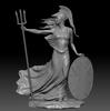 Britannia – 3D STATUE –  30 Troy Oz Solid Silver