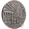 EARTHQUAKE Nepal Cataclysms 1 Oz Silver Coin 2$ Fiji 2017