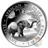 2019 ELEPHANT - EXCLUSIVE Philadelphia ANA PRIVY- 1 Oz Silver Coin Somalia