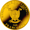 AVE MARIA -  Silver Coin 500 Francs Cameroon 2018