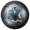 MOON LANDING SPHERICAL 1oz Silver Ball Coin   $5 Barbados 2019