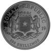 Black & White ELEPHANT African Wildlife 2x 1 oz silver coin Somalie 2019