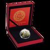 RAT Green Freshwater Pearl Chinese Lunar Year 1 Oz Silver Coin 10$ Fiji 2020