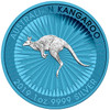 KANGAROO Space Blue Edition 1 oz Silver Coin 1$ Australia 2019
