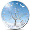 "WINTER ""Four Seasons"" Maple Leaf Series 1 Oz Silver Coin Canada 2019"