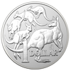 MOB OF ROOS 1 oz coin BU 2019 Australia