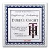 5 OZ Roman Booteen's  DURER's KNIGHT Silver Antique Hobo Nickel