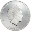 AC/DC For Those About to Rock $2 Silver Coin Cook Islands 2019