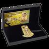 KISS 3D Gustav Klimt 2 Oz Silver High relief Coin Cook Islands 2019