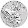 YEAR OF THE MOUSE - 1 oz Lunar Series III 2020 Australia