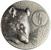 96 RAT- 2 Oz Silver Ultra high relief coins 2020 Niue