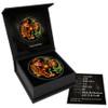 DRAGON & TIGER 1 oz Ruthenium Colorized Coin $1 2018 Australia