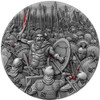 LEONIDAS Thermopylae Great Commanders 2 Oz Silver Coin Niue 2019