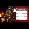 SILENT NIGHT Maple Leaf 1 oz Silver Coin Canada 2019