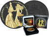 The Allegories 2019 Britannia & Germania 1 oz Silver Black Gold Space Edition