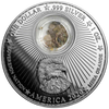 AREA 51 with EARTH of AREA 51 -1 oz Silver Proof Locked Coin 2020 USA