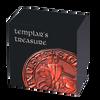 TEMPLAR'S TREASURE 2 Oz Silver Coin Cameroon 2020
