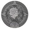 CELTIC CALENDAR 2 Oz Silver High Relief Coin Niue 2019