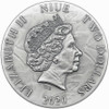 ANASTASIYA  Dark Beauties XXL Relief Silver Coin  Niue 2020