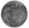 BLACK HORSE Four Horsemen Of The Apocalypse 2 oz Silver Coin 5$ Niue 2020