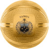 BASKETBALL Spherical 1 oz Silver Proof Gold Plated Coin Samoa 2020