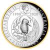 KOOKABURRA 2oz Silver Proof Gilded High Relief Coin 2020 Australia