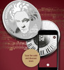 BEETHOVEN 250th Ann. Silver Proof Coin 250 Francs Cameroon 2020